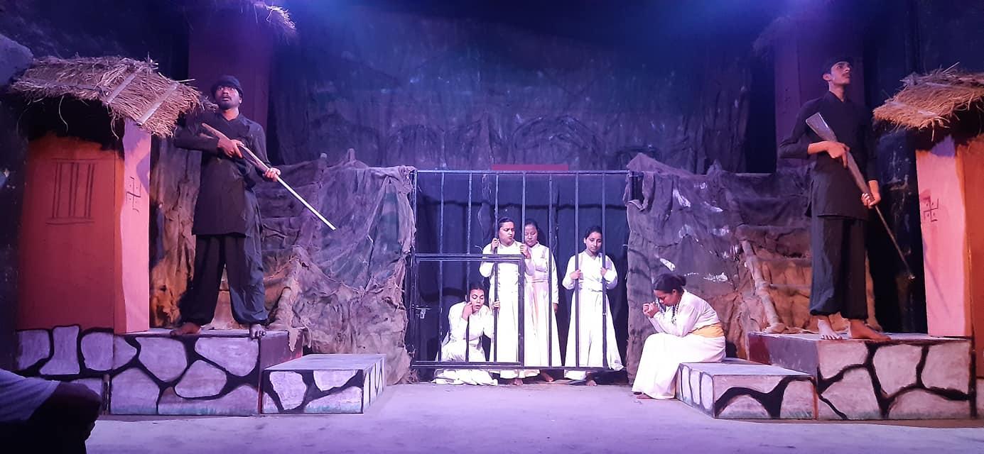 झोराहाटमा योगमाया नाटक मञ्चन